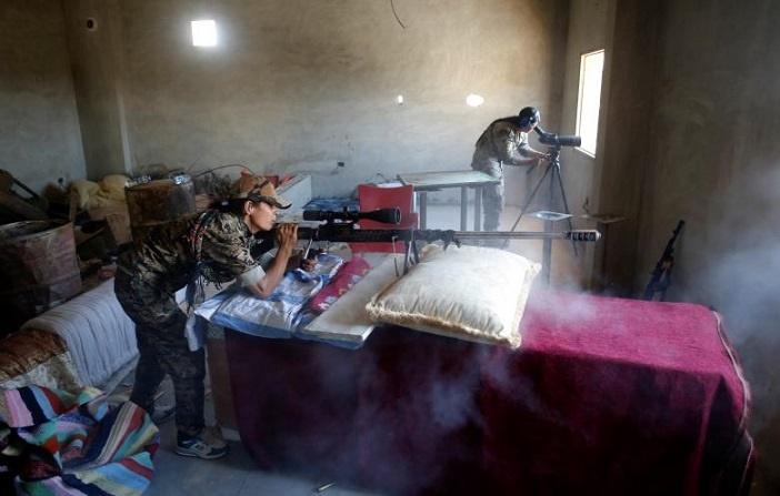 تصاویر | دختران کُردی که به جنگ داعش رفتند