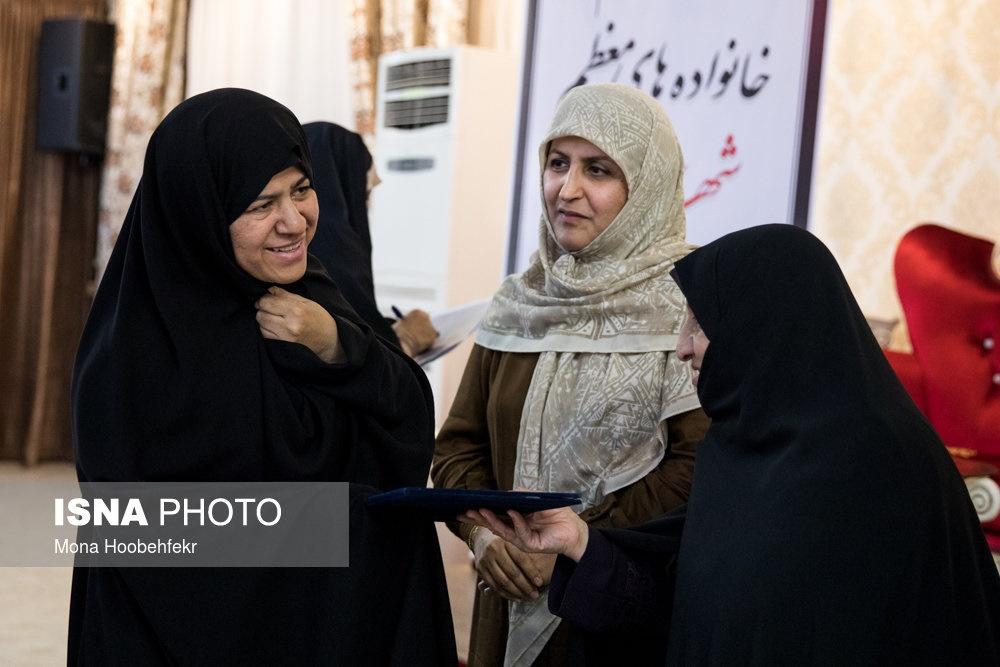 تصاویر   افطاری زنان مجلس با خانواده شهدای آتشنشان