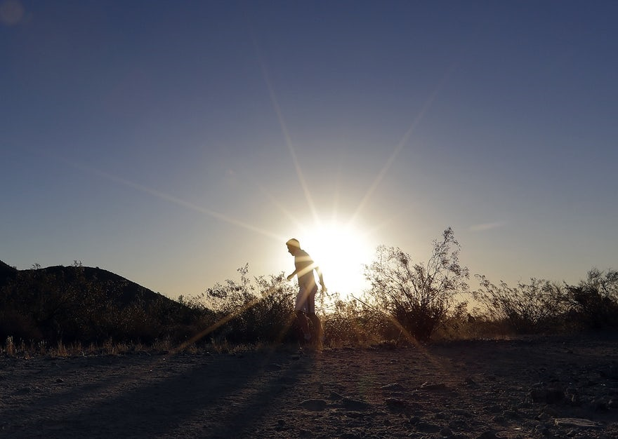 تصاویر   گرمای بیسابقه هوا در جنوب غرب آمریکا