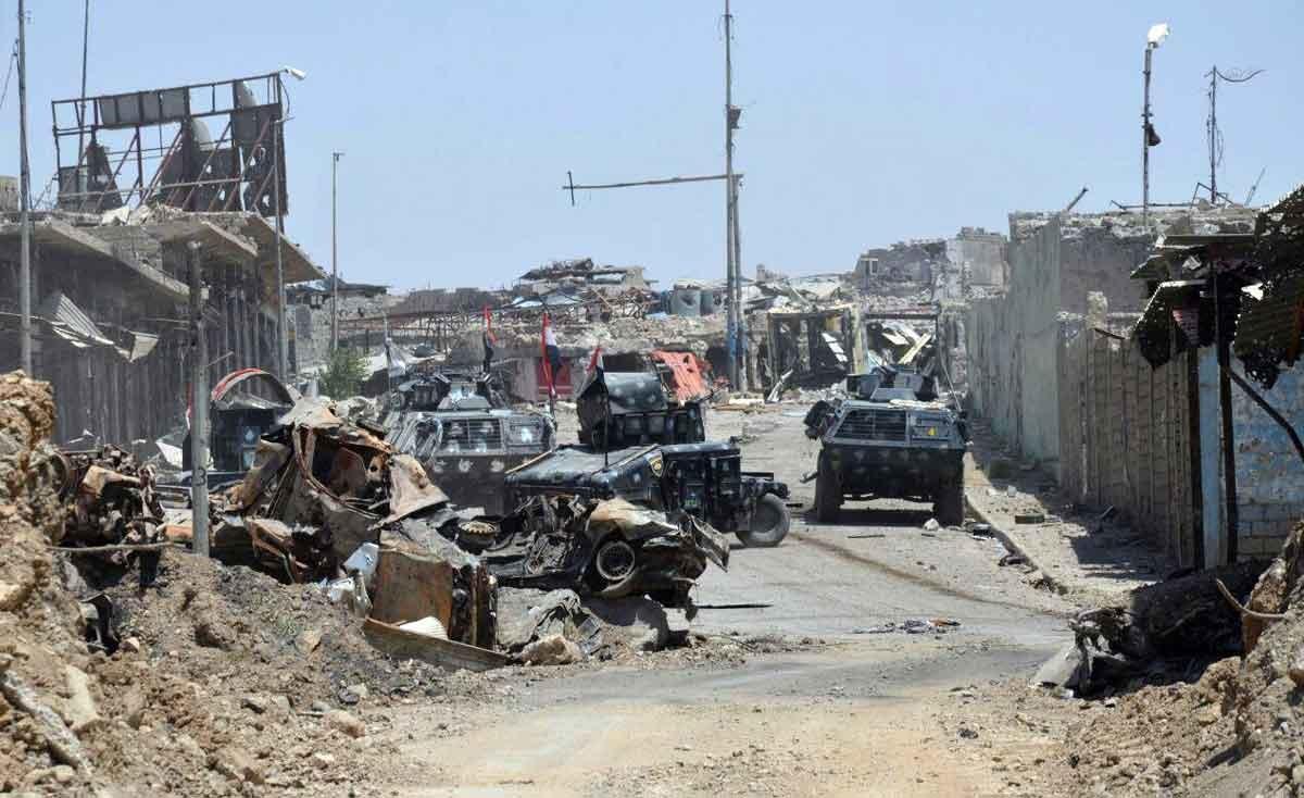 تصاویر | نفوذ به آخرین پایگاه داعش با جنگ خیابانی