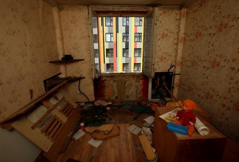 تصاویر | تخریب ساختمانهای دوران شوروی در روسیه