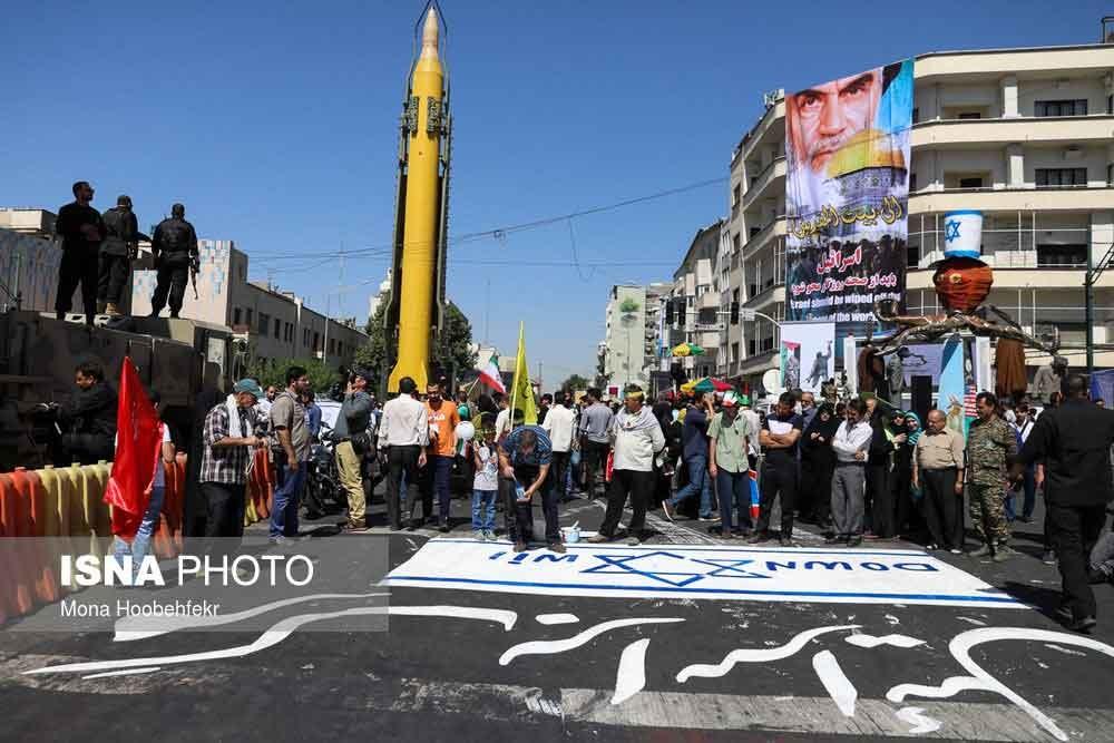 تصاویر | راهپیمایی روز قدس در پایتخت