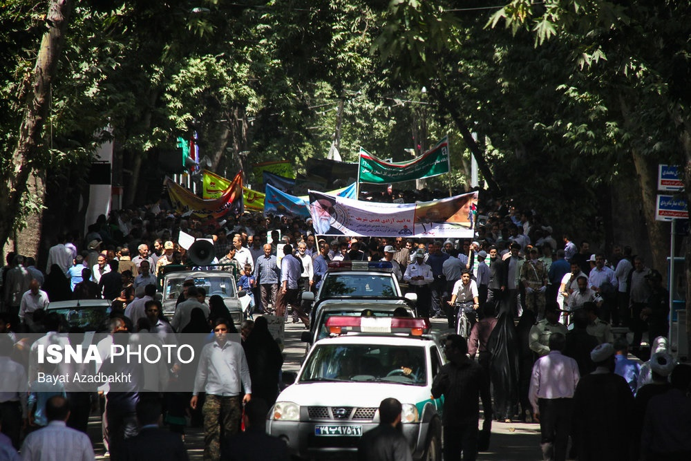 تصاویر | راهپیمایی روز قدس در گوشه و کنار کشور