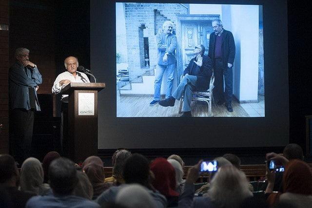 حقیقی: کیارستمی میگفت ۸۸ سالگی مثل آرم گروهبانهاست/ جشن تولد ۷۷ سالگی عباس کیارستمی برگزار شد