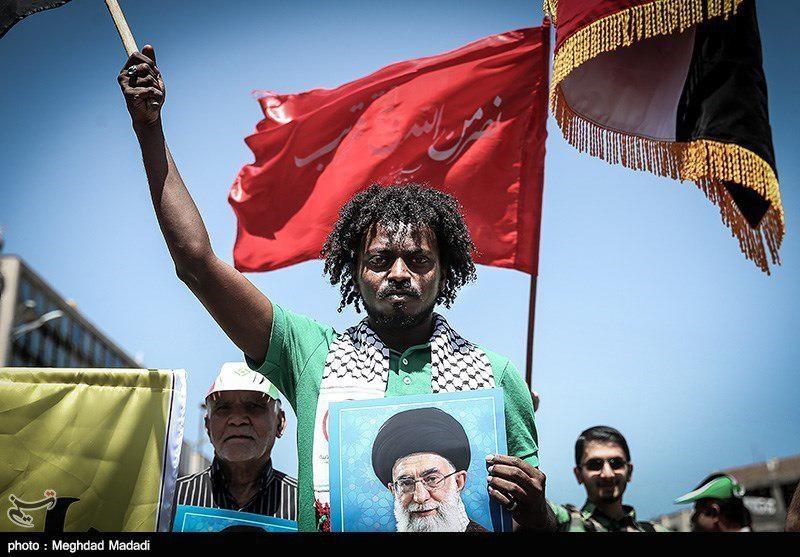 تصاویر | حضور مسلمانان خارجی در راهپیمایی روز قدس