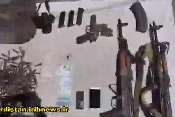 فیلم | انهدام یک باند تروریستی در کردستان توسط سپاه