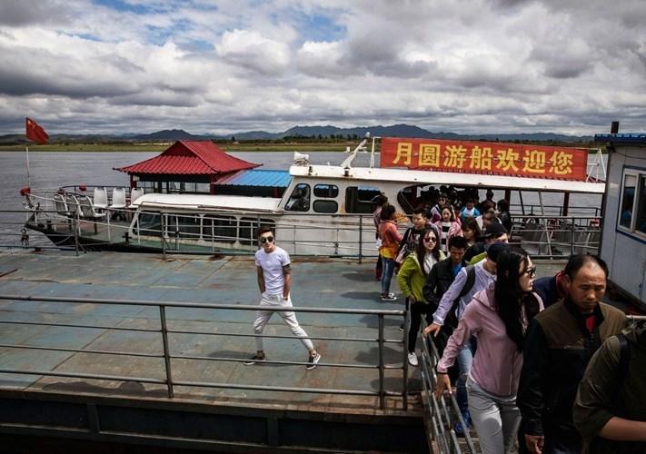 تصاویر | مرز زمینی چین و کره شمالی را ببینید