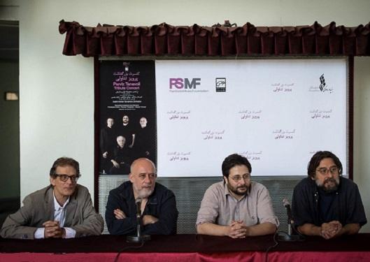 روایتی موسیقایی از پرویز تناولی و شیرهای ایرانی