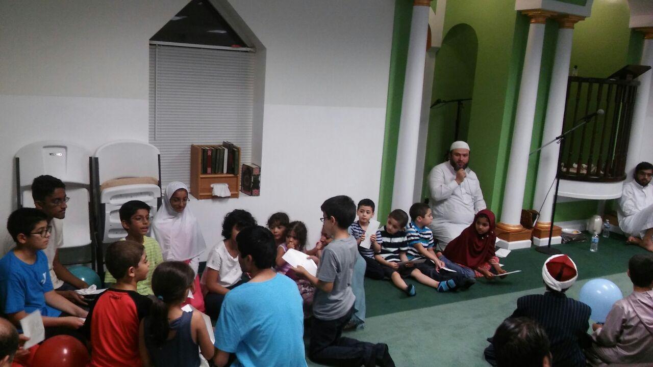 تصاویر   مراسم عید فطر به سبک آمریکاییها
