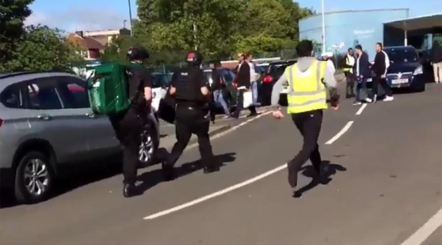 تصاویر | هجوم خودرو به مراسم جشن عید فطر در نیوکاسل