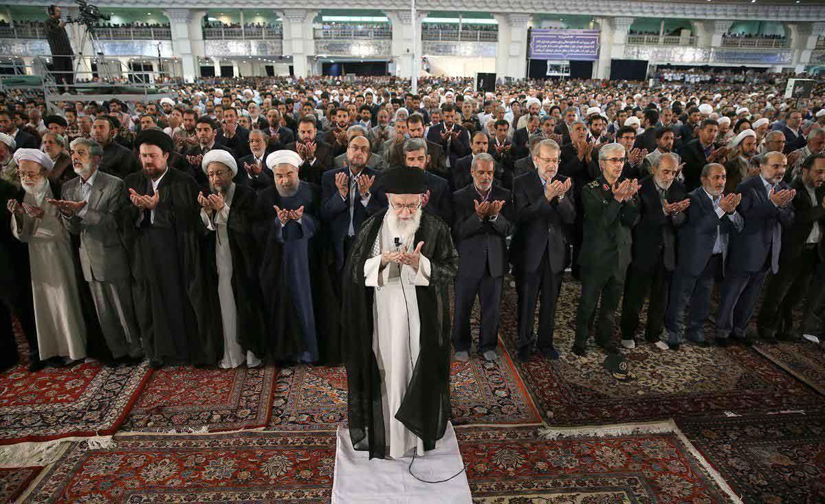 عکس | صف اول نماز عید سعید فطر