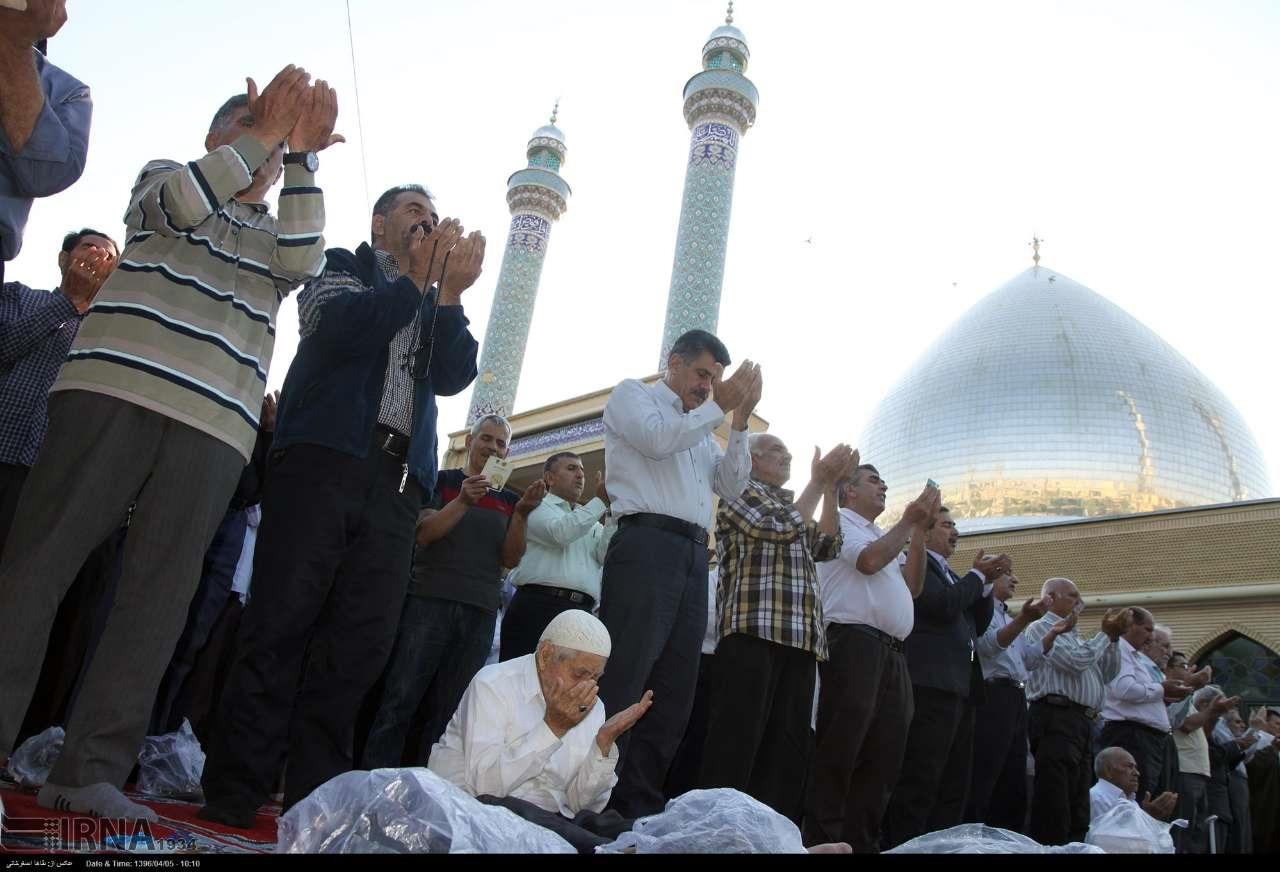 نماز عید فطر در ارومیه
