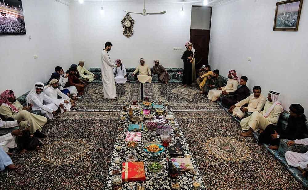 تصاویر | پایکوبی در عیدفطر به سبک اعراب خوزستان