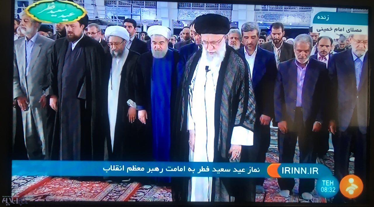 اقامه نماز عیدفطر از سوی مقام معظم رهبری/ چه کسانی در صف اول حضور دارند؟