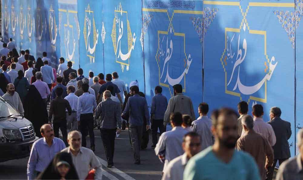 تصاویر   حال و هوای نماز عید فطر در مصلای تهران
