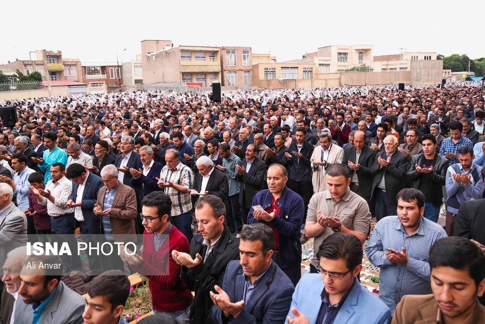 تصاویر | نماز عید فطر در گوشه و کنار ایران