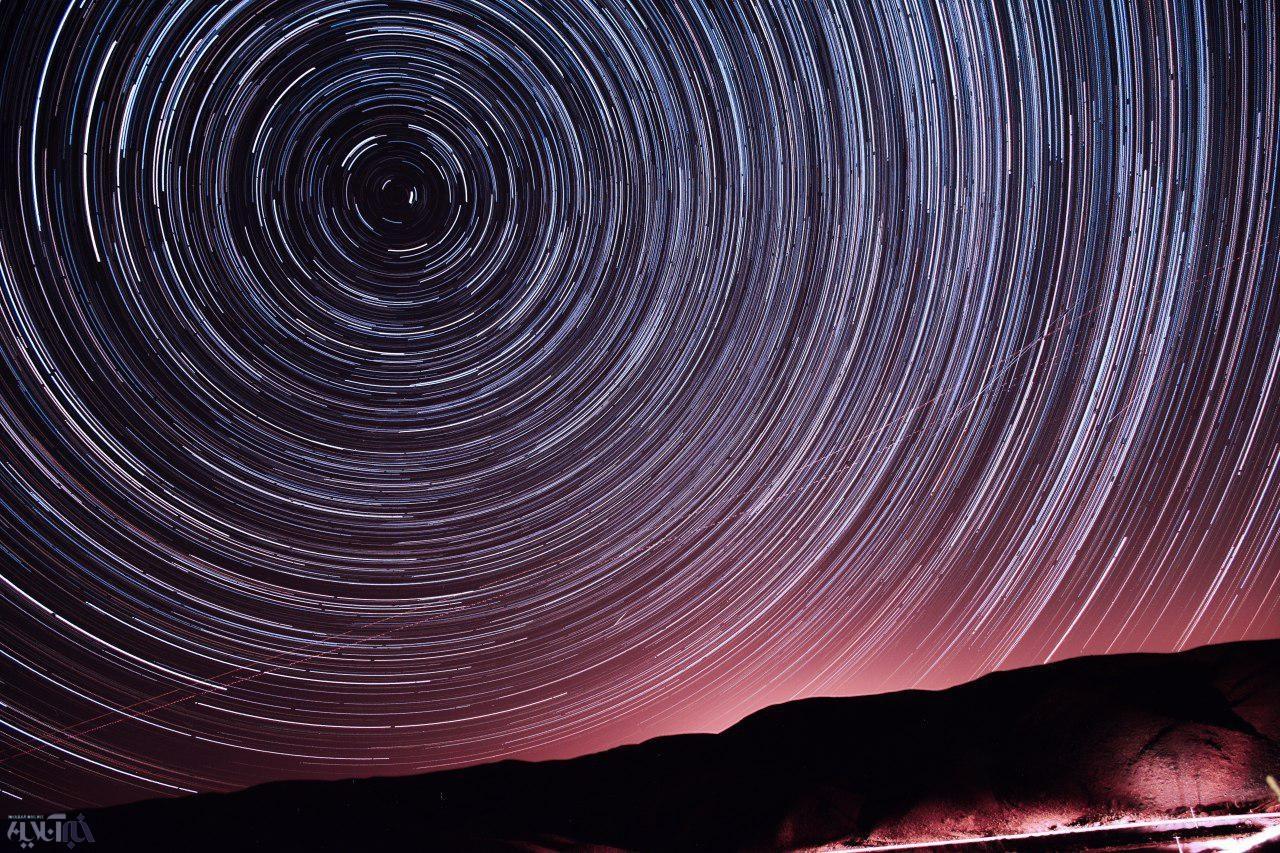عکس | تصویری شگفتانگیز از ستاره قطبی در آسمان ایران