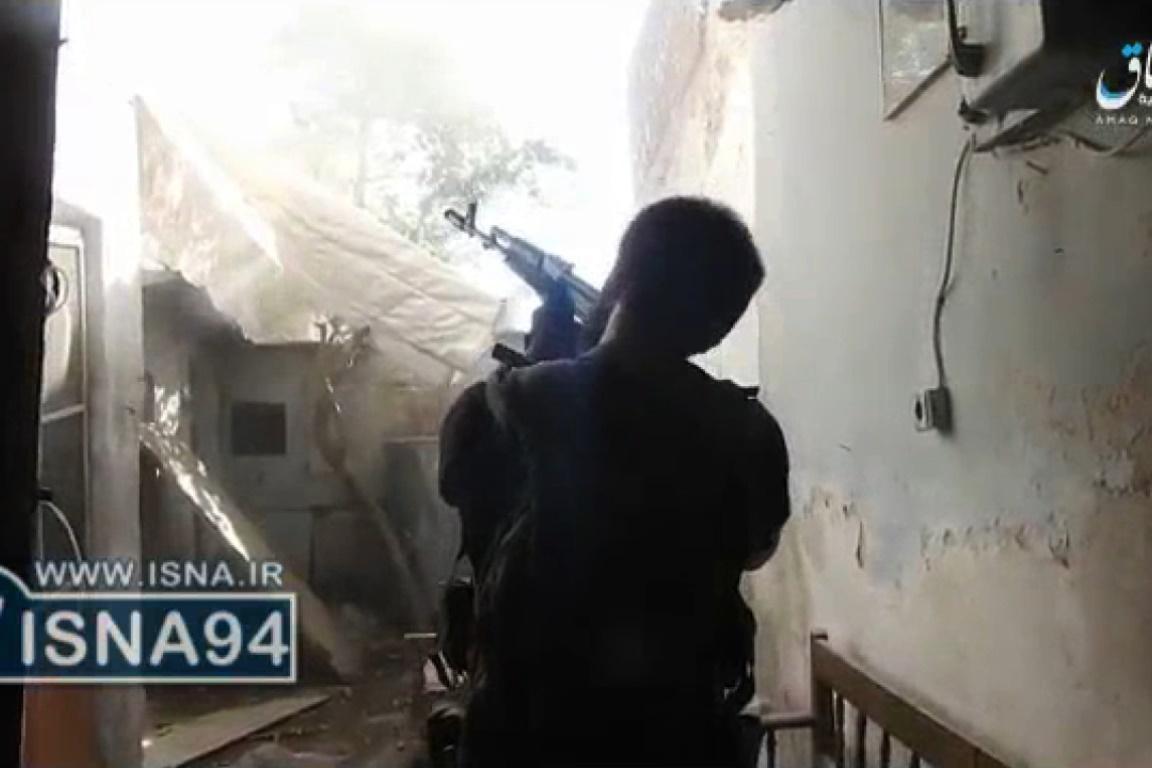 فیلمی که داعش از نبرد افرادش با سربازان عراقی منتشر کرد
