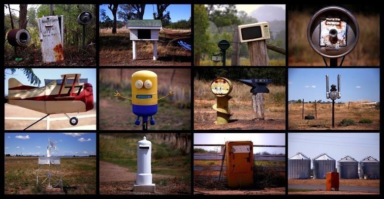 تصاویر | خلاقانهترین صندوقهای پست در استرالیا