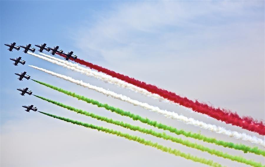 تصاویر زیبا از مانور هوایی در مراسم روز جمهوری ایتالیا