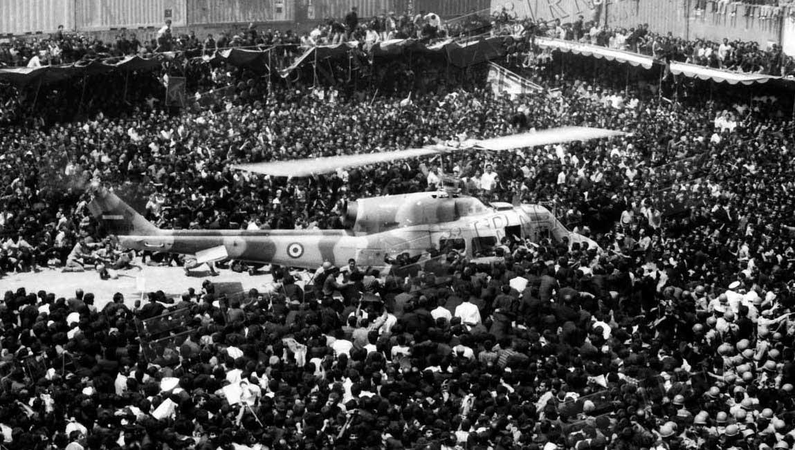 تصاویر | تشییع تاریخی پیکر حضرت امام خمینی(ره)