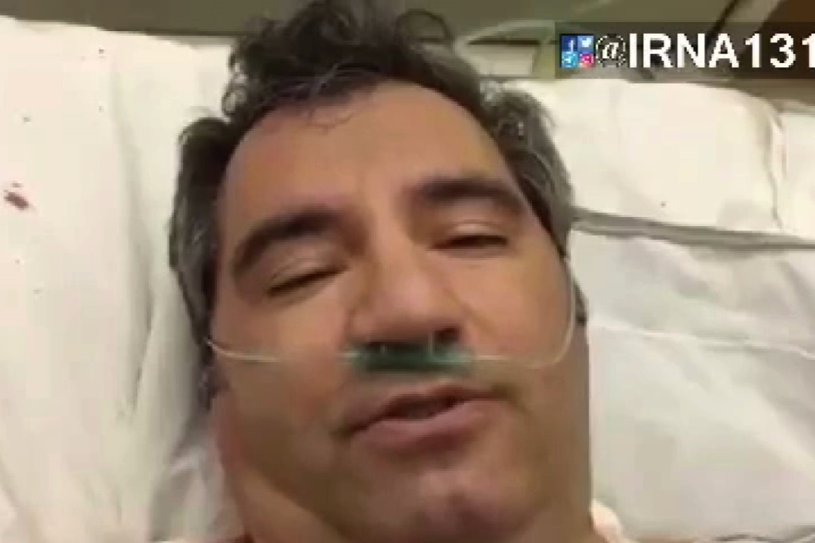 فیلم | حمله یک بیمار روانی به پزشک تبریزی با چاقو