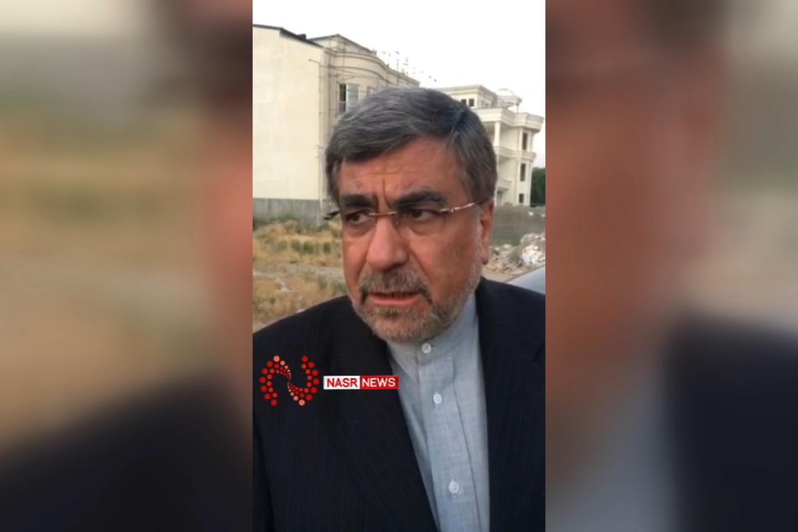فیلم   واکنش علی جنتی به شعرخوانی جنجالی عید فطر
