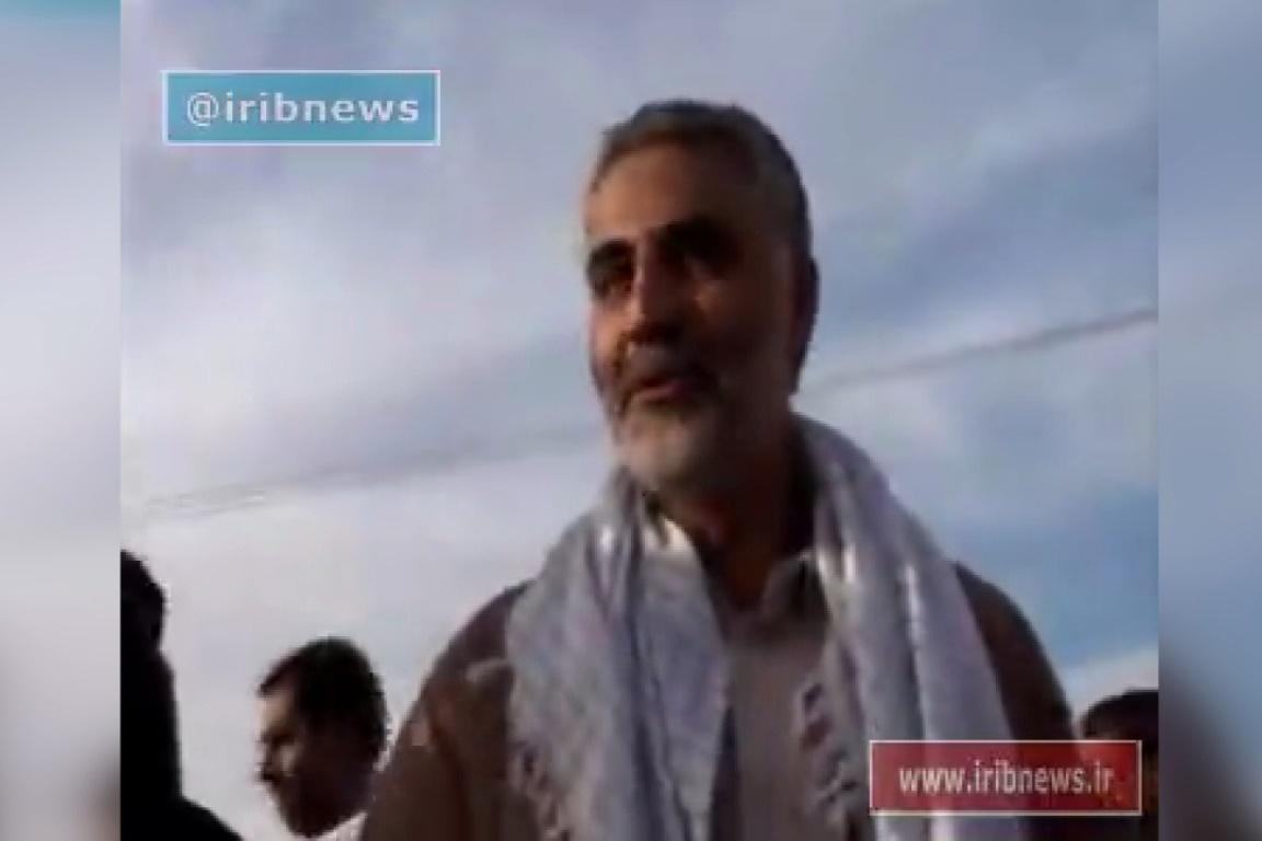 فیلم | تصاویر دیده نشده از سردار سلیمانی از گذشته تا امروز