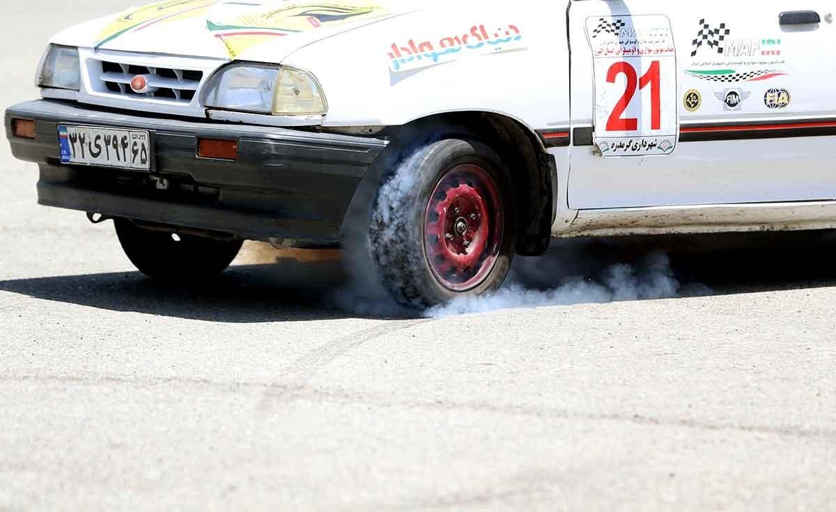 پایان مسابقات اتومبیلرانی تایمتریل قهرمانی شمالغرب کشور در ارومیه