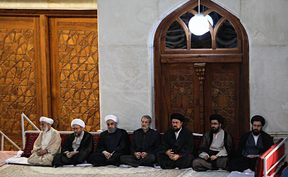 تصاویر | مراسم سالگرد ارتحال امام(ره)؛ از حضور رهبر انقلاب تا حواشی دیدار مسئولین