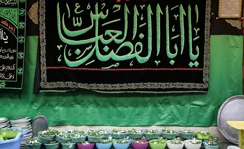 تصاویر | سفره افطار تماشایی برای رهگذران و اهالی محل