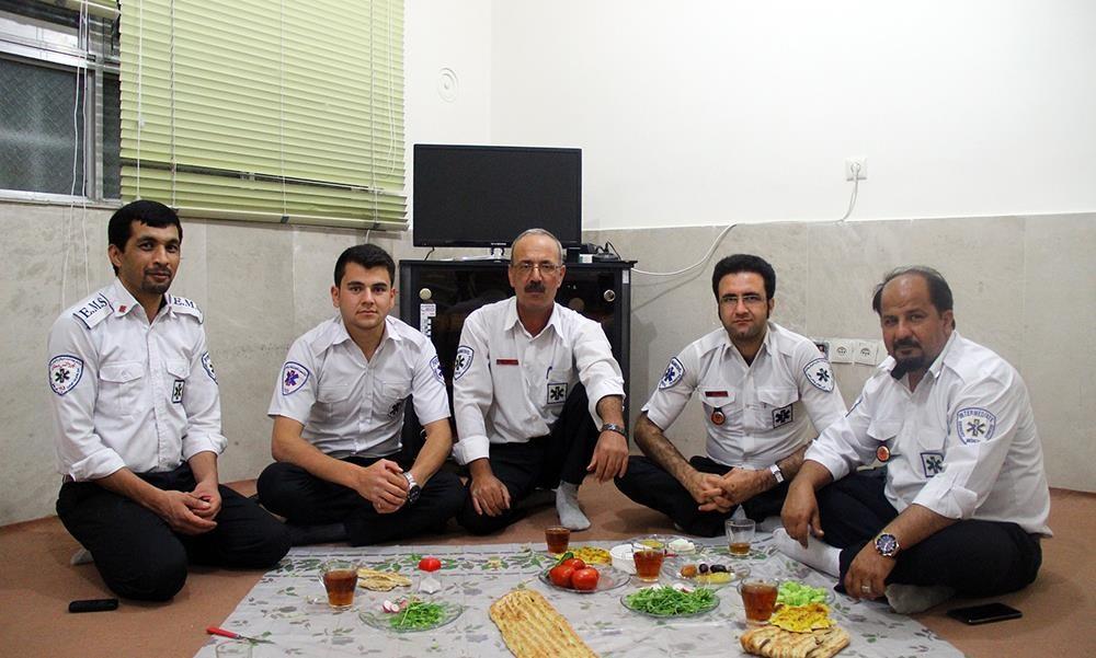 تصاویر   مشاغل سخت در ماه مبارک رمضان