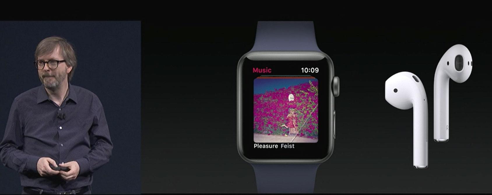 رونمایی از سیستم عامل اپل واچ او اس 4 در کنفرانس WWDC 2017