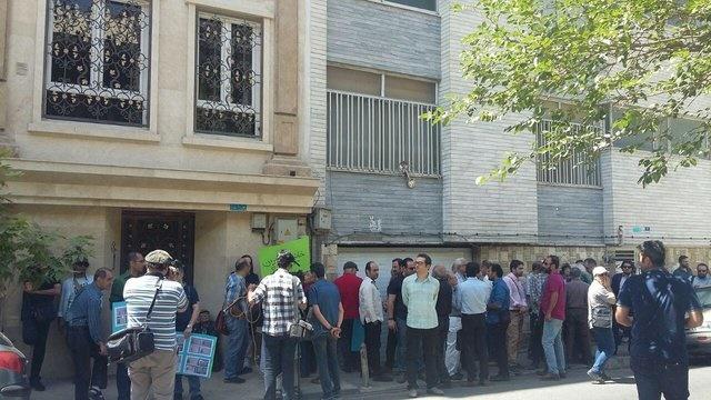 مداخله نیروی انتظامی در تجمع مستندسازان/ اسعدیان: برخی میخواهند راه شمقدری را بروند