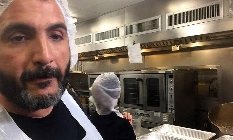 تصاویر | کمک مسلمانان به بیخانمانهای آمریکا در ماه رمضان