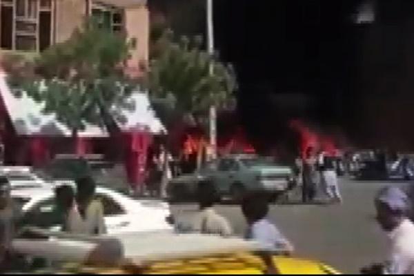 فیلم   ۷ کشته و ۱۶ زخمی در انفجار مقابل مسجد جامع هرات