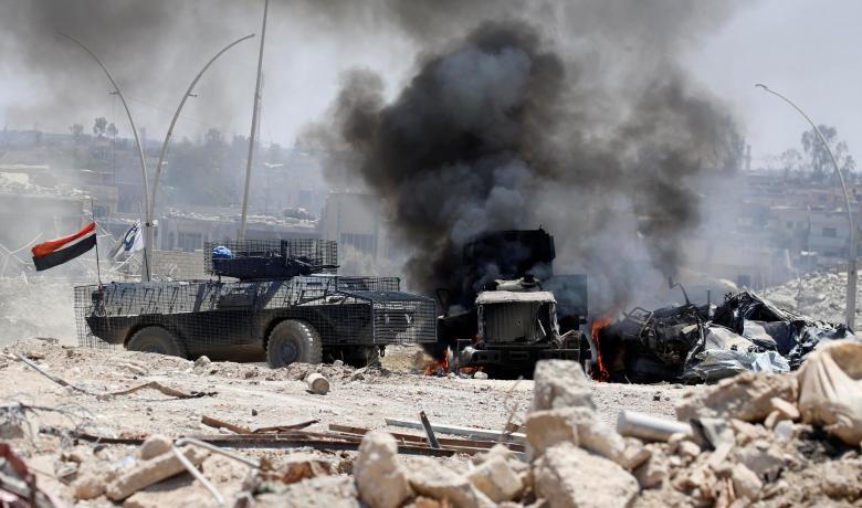 تصاویر   خط مقدم جنگ با داعش در موصل