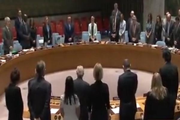 فیلم | یک دقیقه سکوت اعضای شورای امنیت در واکنش به حملات تروریستی تهران