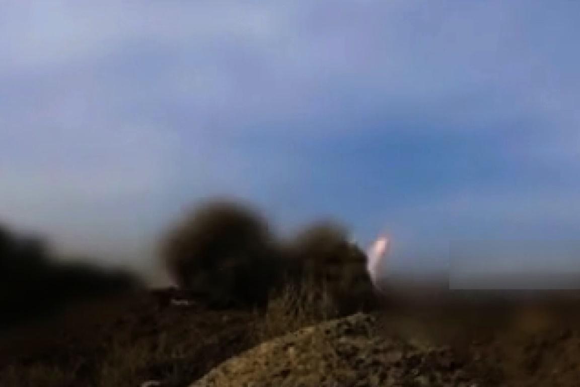 فیلم | ساقط کردن یک فروند جنگنده اف-١٦ سعودی در یمن