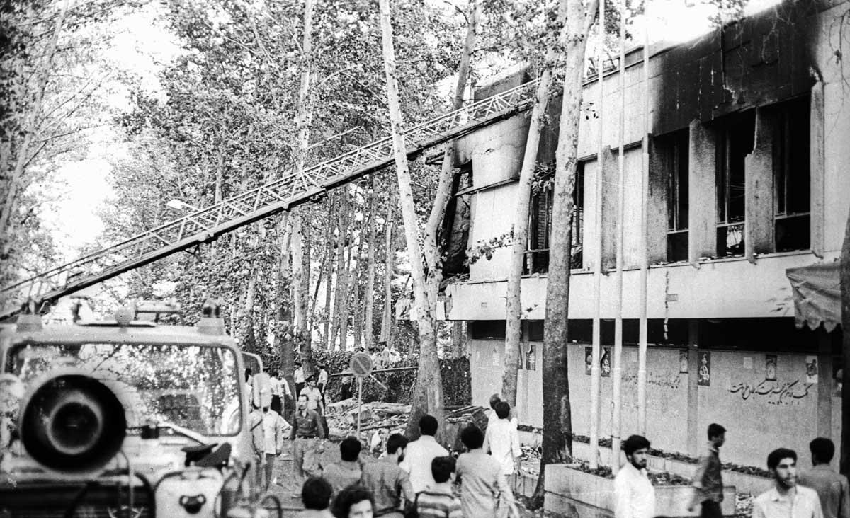 تصاویر | نگاهی به حملات تروریستی دهه ۶۰ در کشور