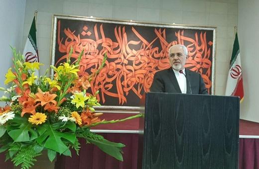 سخنرانی ظریف در جمع ایرانیان مقیم آلمان/مردم برجام را به نتیجه رساندند