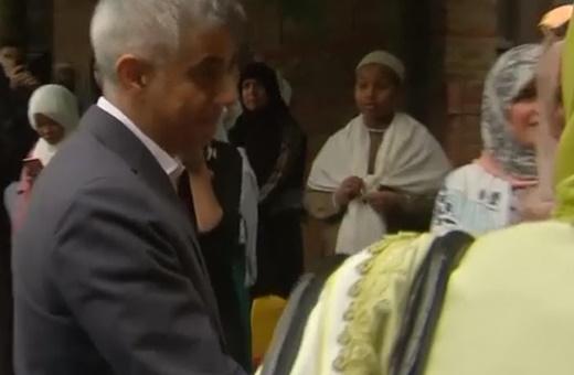 فیلم | عیددیدنی شهردار لندن با مسلمانان این شهر