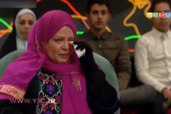 فیلم | اشکهای بهاره رهنما در فراق دخترش