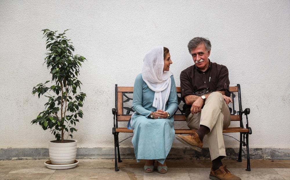 تصاویر | نشست خبری خانه سینما با حضور فاطمه معتمدآریا و همایون اسعدیان