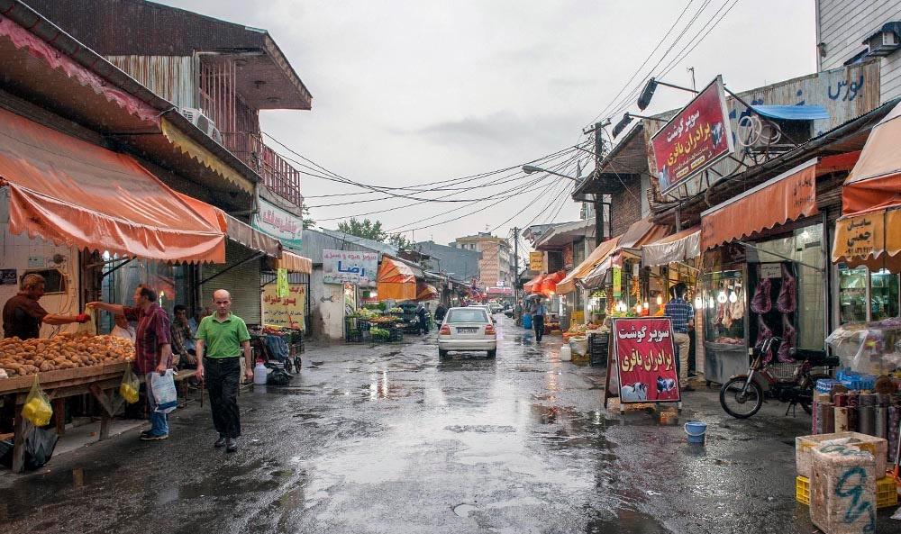 تصاویر | بارش باران در روزهای گرم و تابستانی رشت