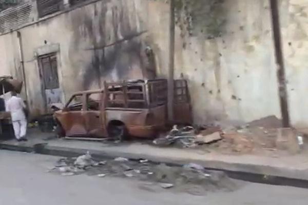 فیلم | بازگشت مردم به غرب موصل پس از آزادی
