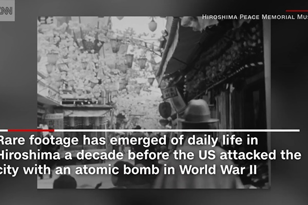 فیلم   هیروشیما قبل از بمباران اتمی امریکا