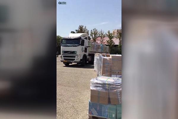 فیلم | ارسال ۶۰تن دارو و تجهیزات پزشکی به عربستان
