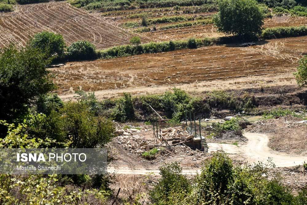 تصاویر | روستایی که بهزودی به زیر آب خواهد رفت!
