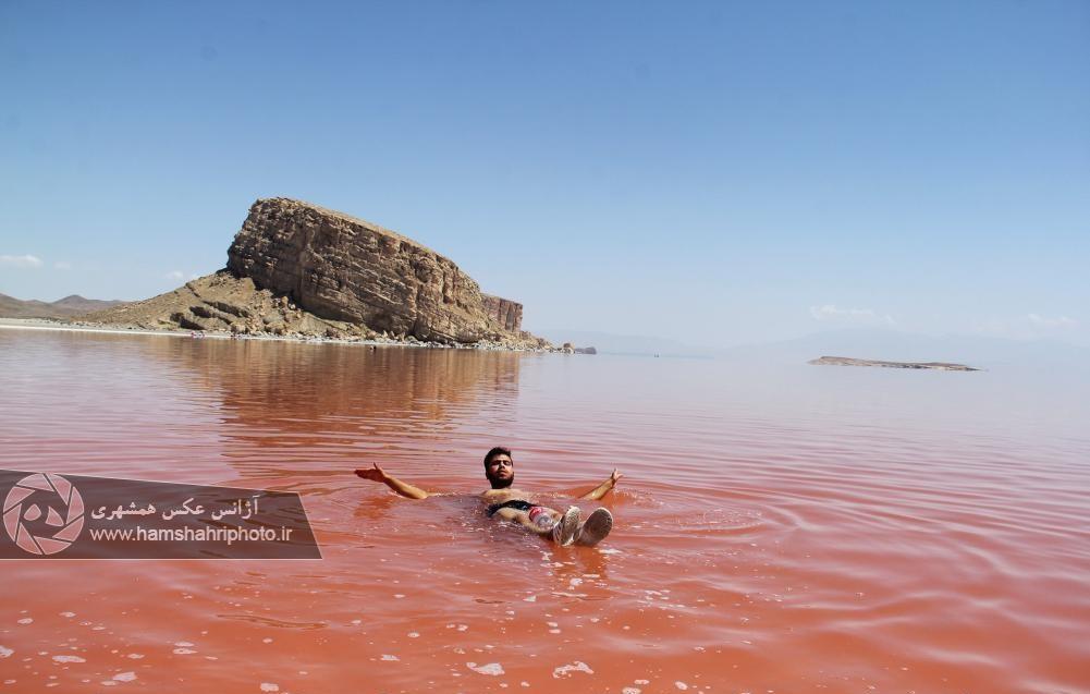 دریاچه تب دار